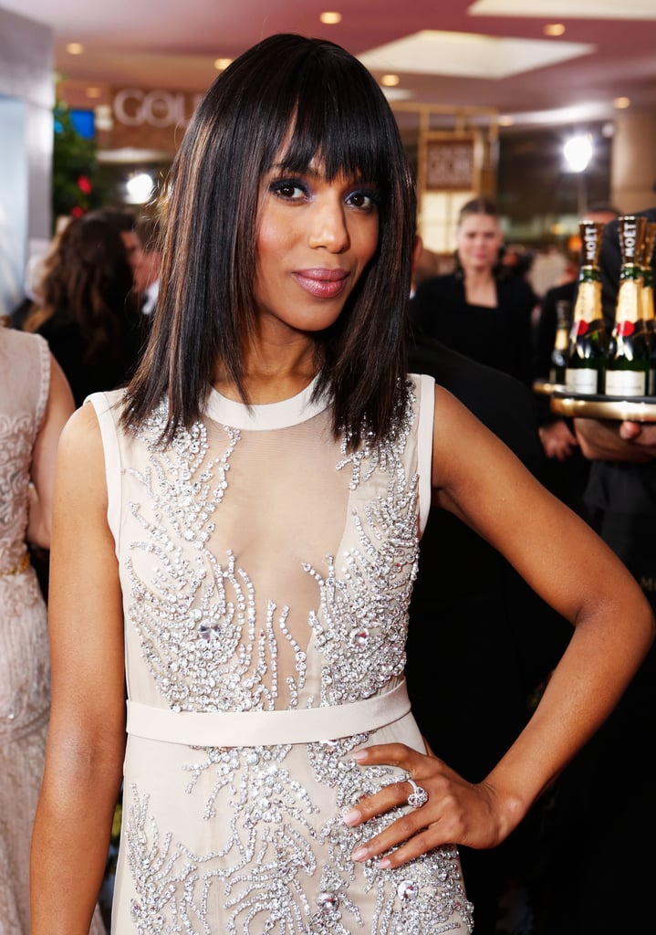 It's a December to remember for Kerry. On the heels of her Emmy nomination earlier this year, she also is up for a SAG award for Scandal and a Golden Globe for best actress.
