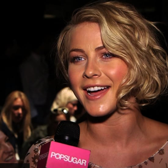 Julianne Hough Fashion Week Interview | Spring 2013