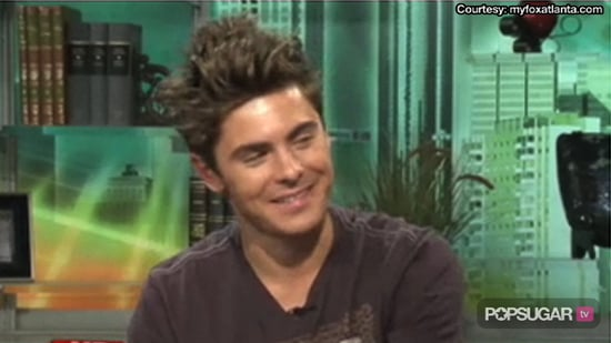 Zac Efron Interview About Vanessa Hudgens