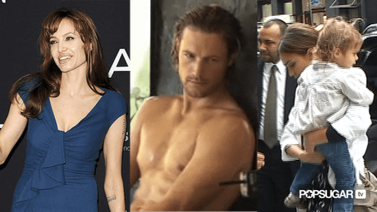 Video of Angelina Jolie Promoting Salt in Europe, Video of Gabriel Aubry Shirtless For Charisma, and Jessica Alba Interview Abou 2010-08-18 13:45:27