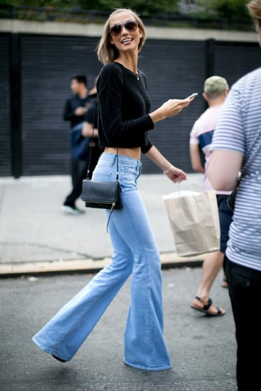 When-she-wasnt-runway-Karlie-Kloss-wearing-flares