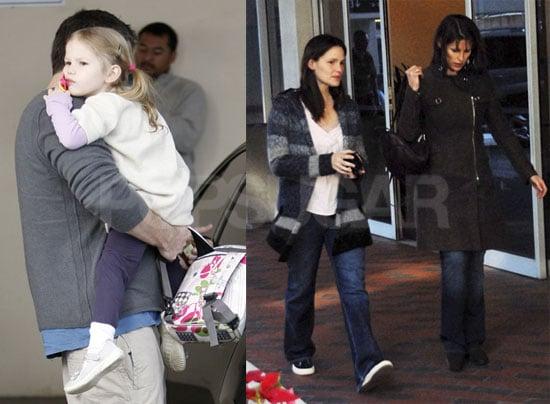 Ben, Jen and Violet