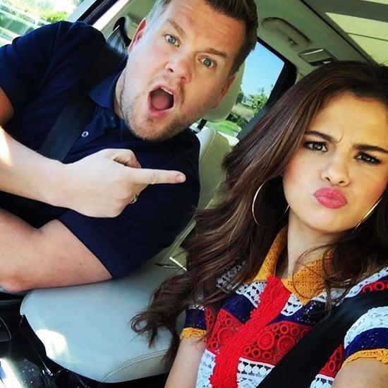 Selena Gomez's Fashion on Carpool Karaoke