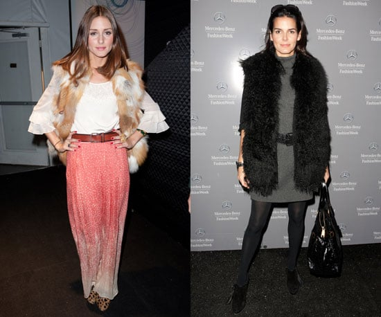 Olivia Palermo Style at New York Fashion Week