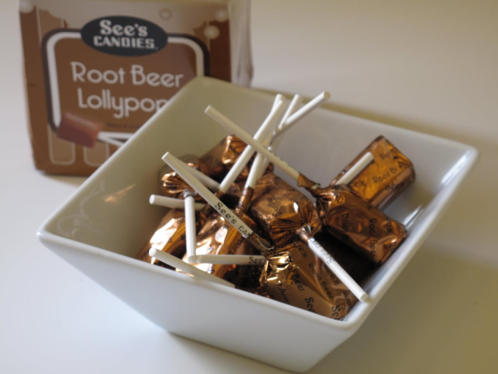 See's Candies Root Beer Lollypops