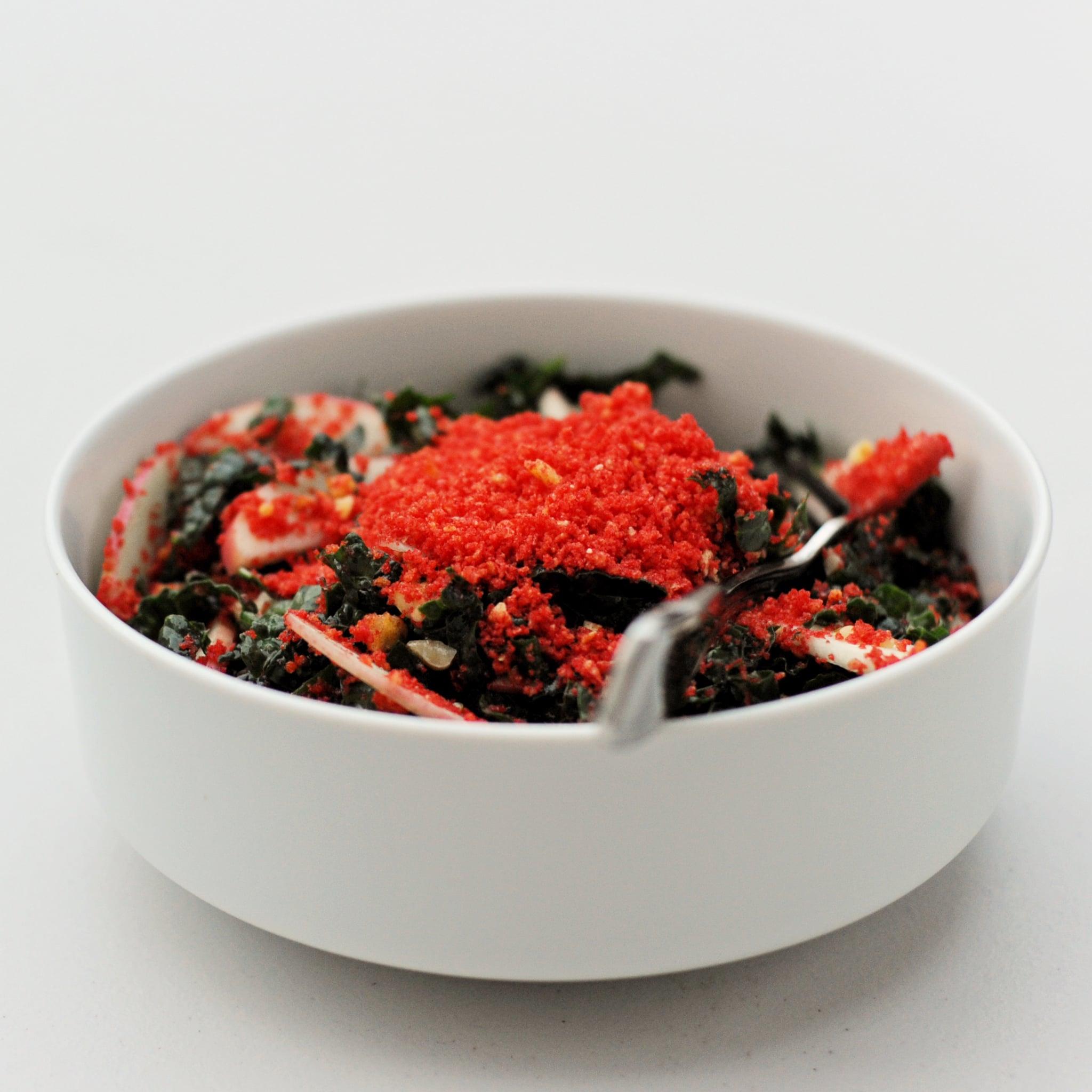 Flamin' Hot Cheetos Kale Salad