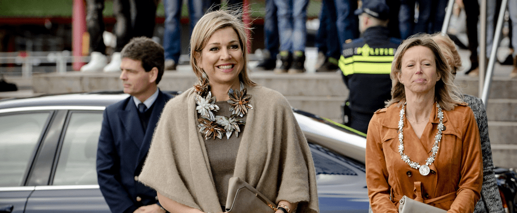 Queen Maxima Just Wore the Statement Necklace to End All Statement Necklaces