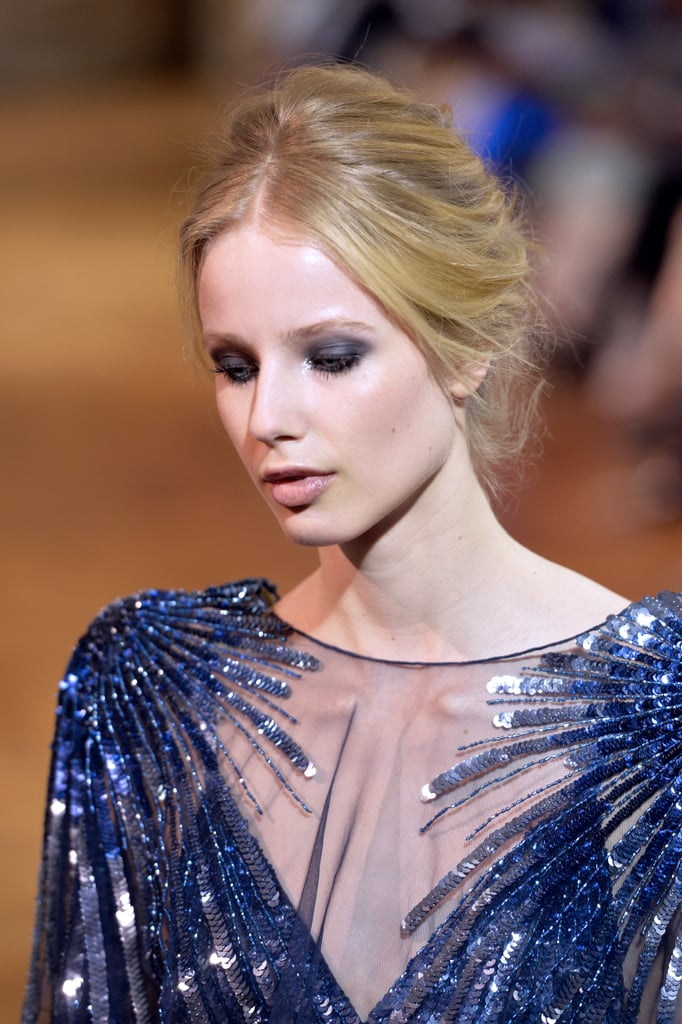 Zuhair Murad's illusion neckline was a showstopper.