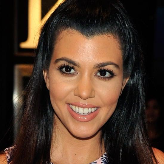 Kourtney Kardashian Pizza Photos