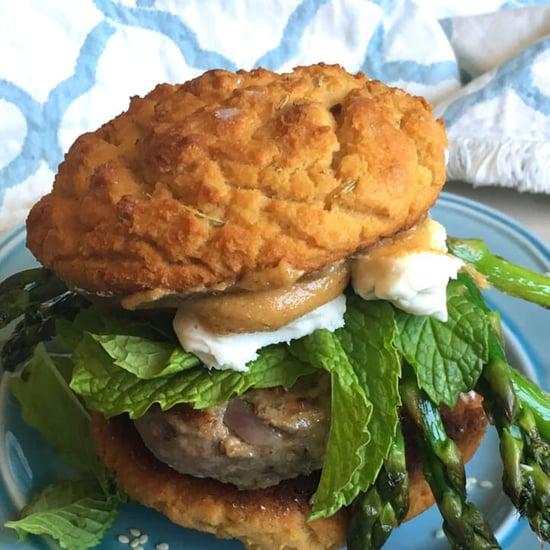 Healthy Lamb Burger Recipe