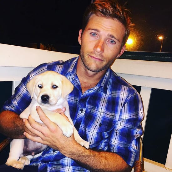 Scott Eastwood With His New Puppy on Twitter