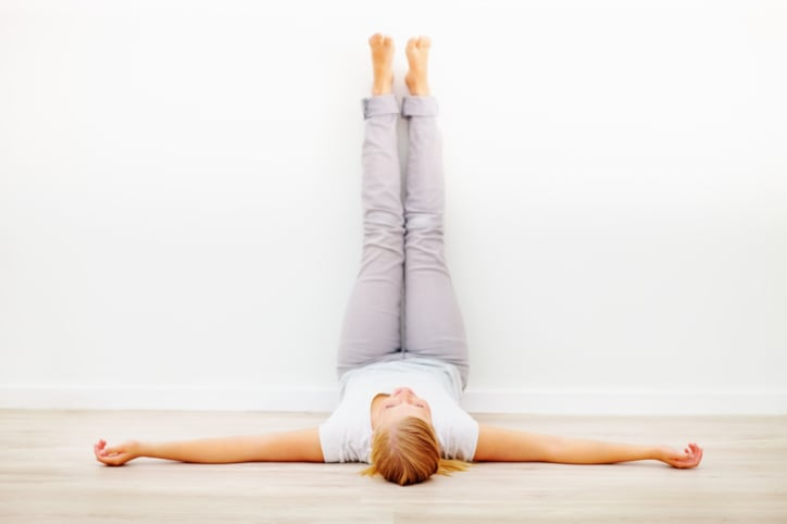 Legs-Up-the-Wall Pose