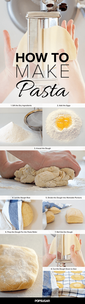 How to Make Fresh Pasta Dough, in Pictures