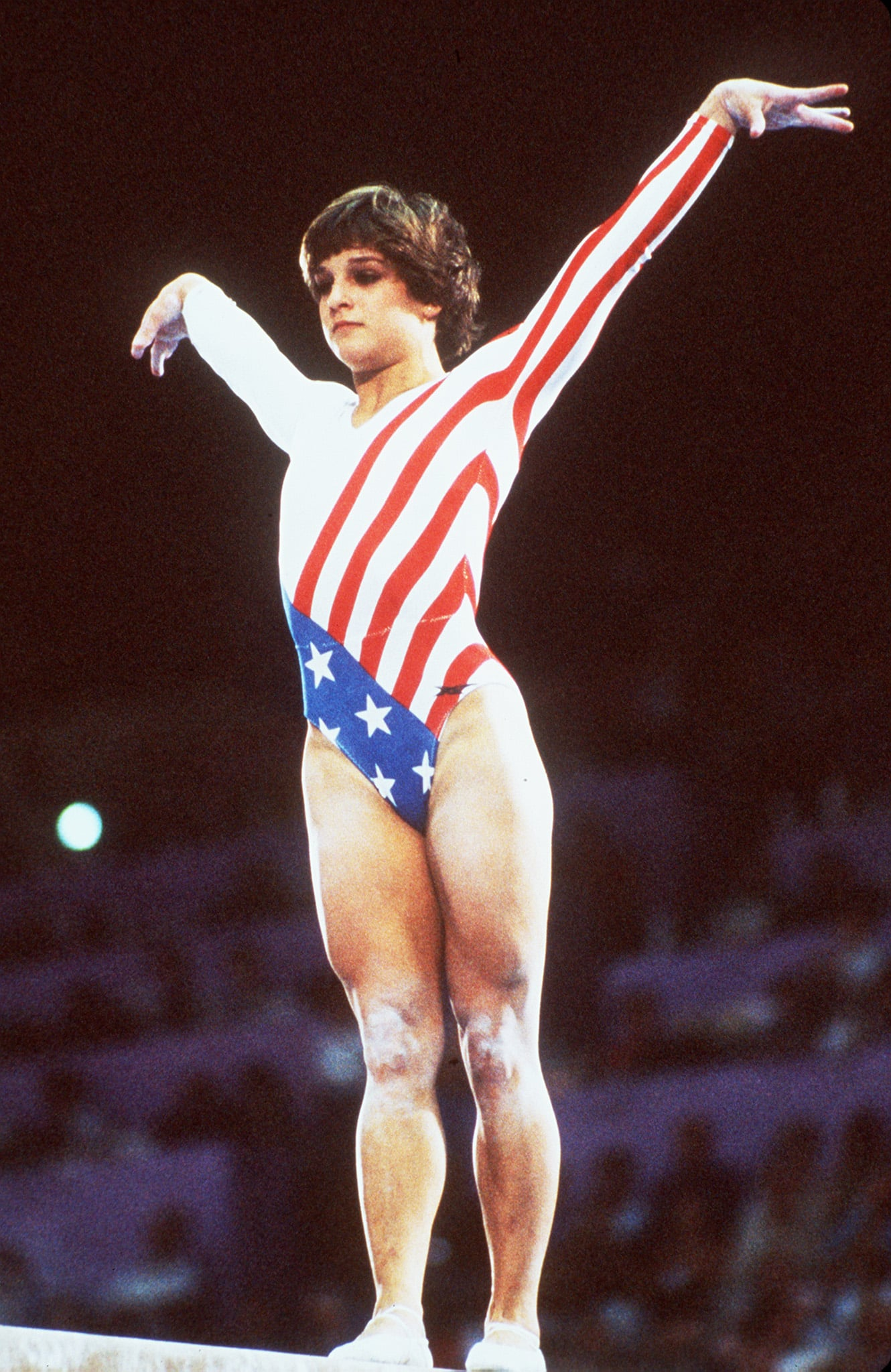 Mary Lou Retton at the 1984 Olympics