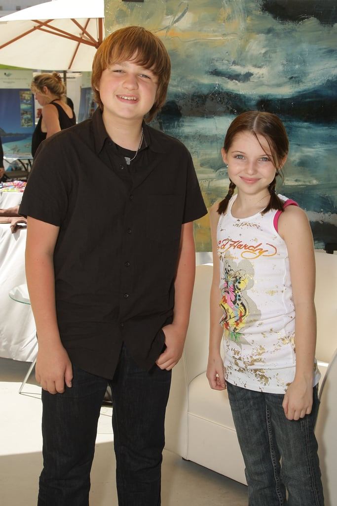 With Sammi Hanratty at a pre-Emmys gifting lounge in September 2008.