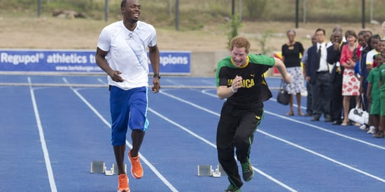 Prince Harry Dares To Challenge Olympian Usain Bolt To Race