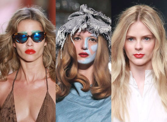 London Trend Alert: Full Cherry Red Lips