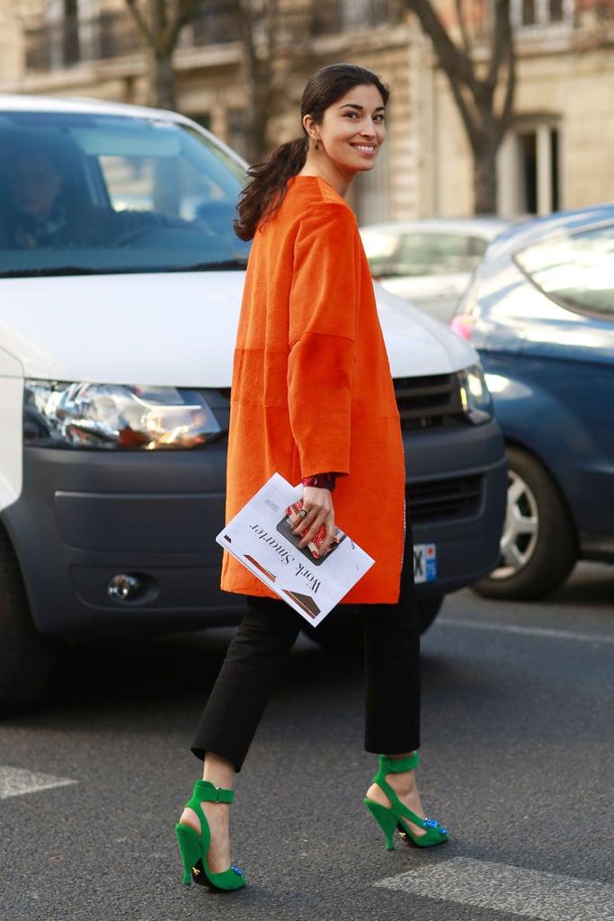 Best Street Style At Paris Fashion Week Fall 2014 Popsugar Fashion