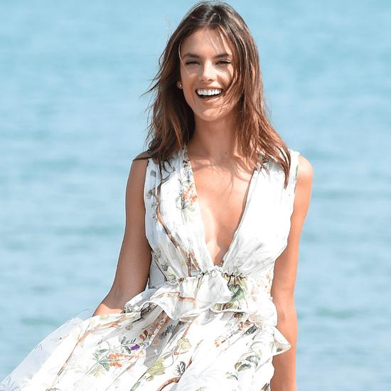 Alessandra Ambrosio's Maxi Dresses