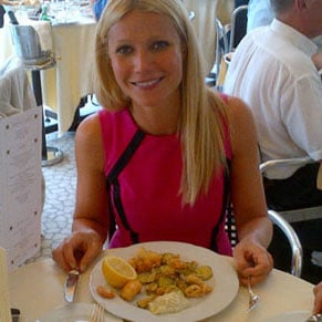 Gwyneth Paltrow Behind the Scenes in Venice Pictures