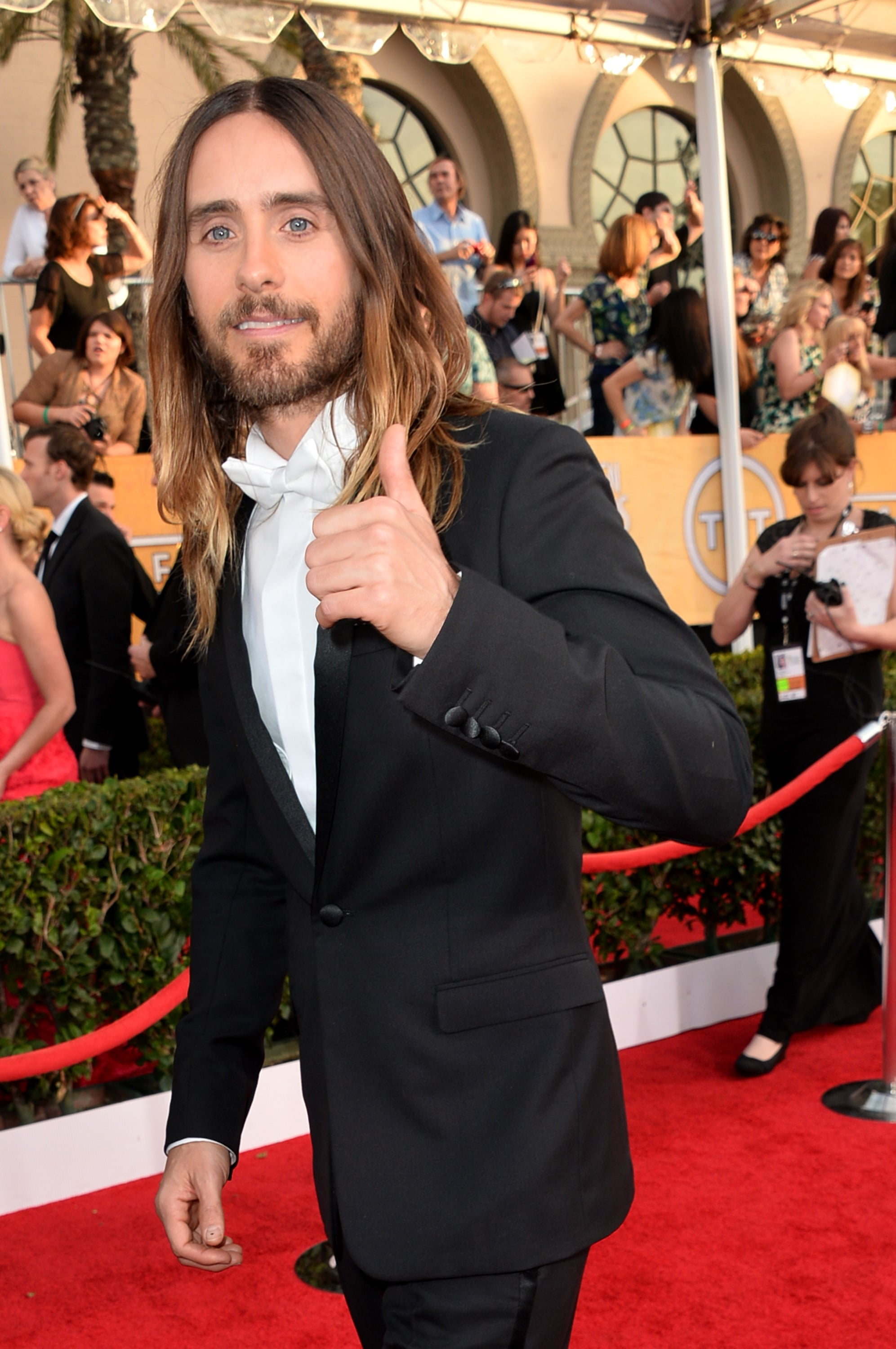 "Jared Leto Takes the Trophy with the ""Hottest Date in Town"""
