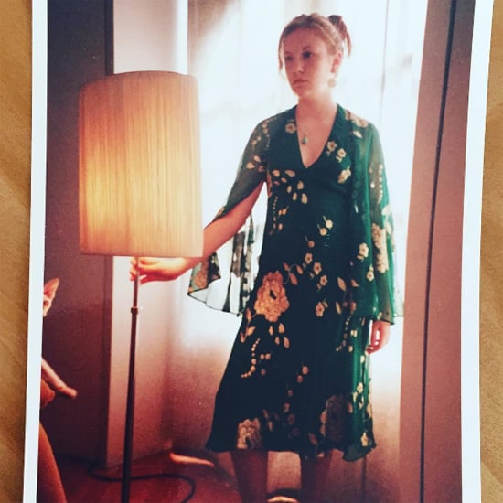 Lena Dunham's Prom Dress Instagram