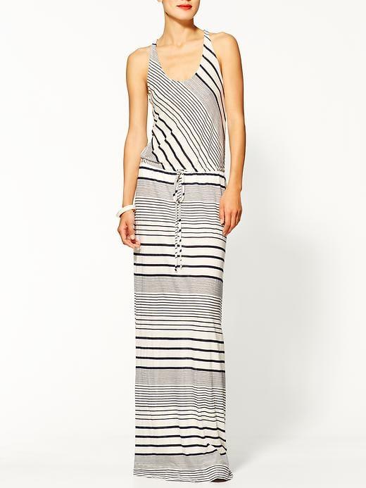 LA Made Striped Maxi Dress