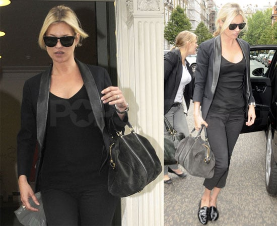 Photos of Kate Moss in Black