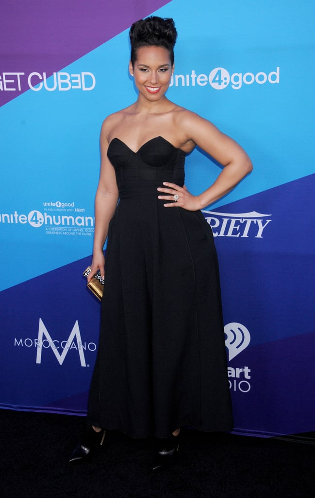 Alicia Keys was honored at the event.
