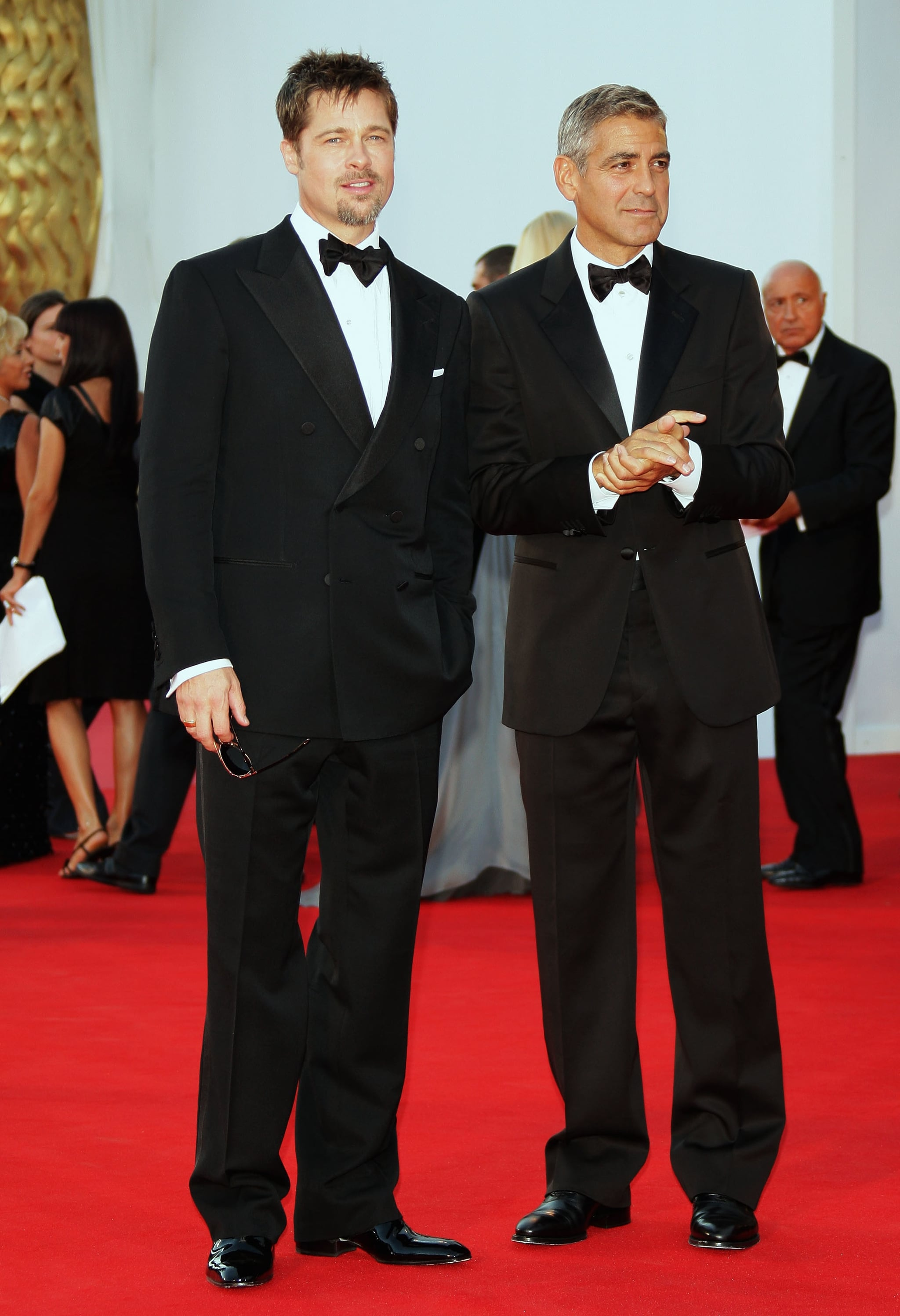 George Clooney at the Cannes Film Festival Premiere of Burn After Reading