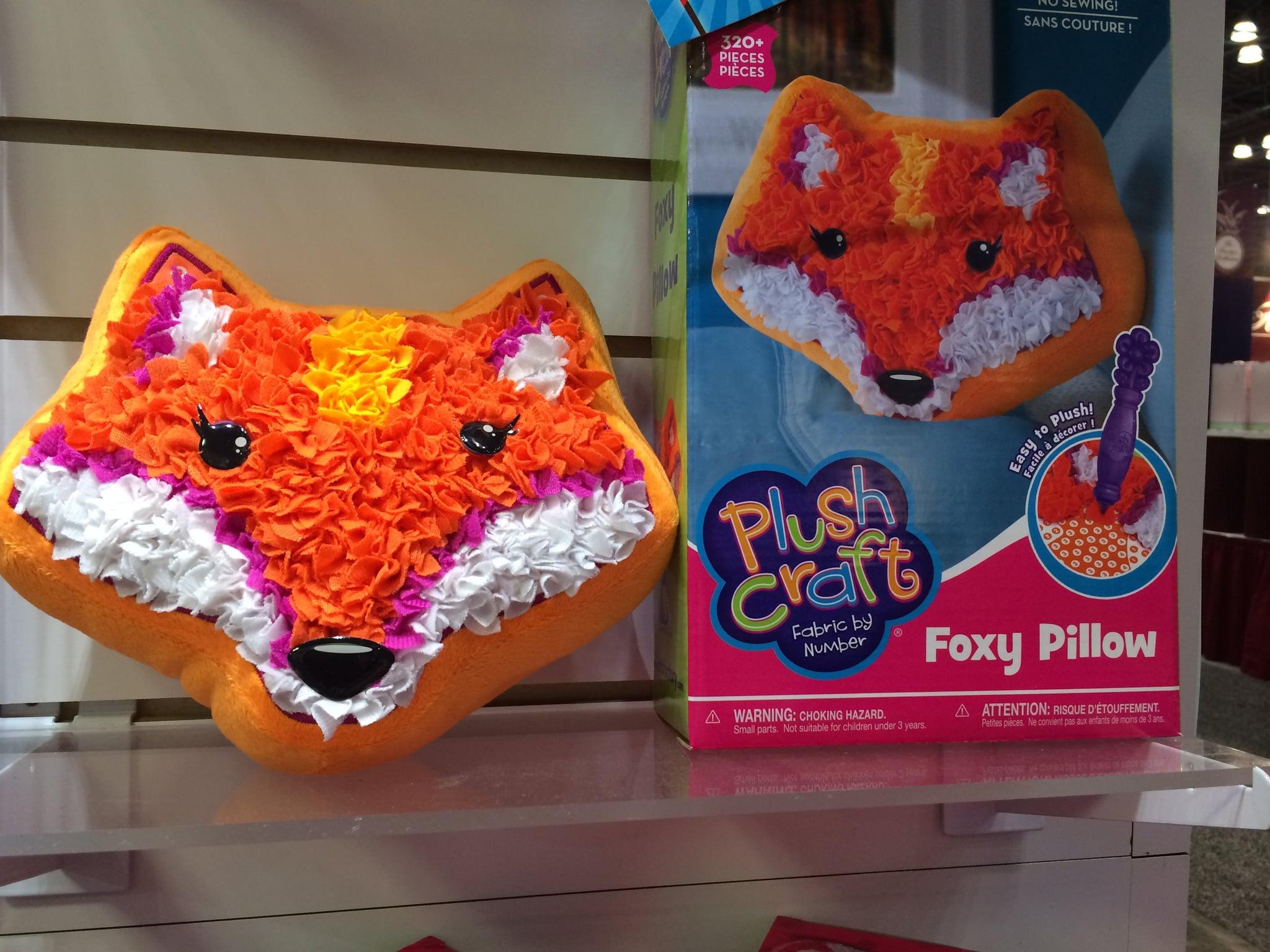 Plush Craft Foxy Pillow