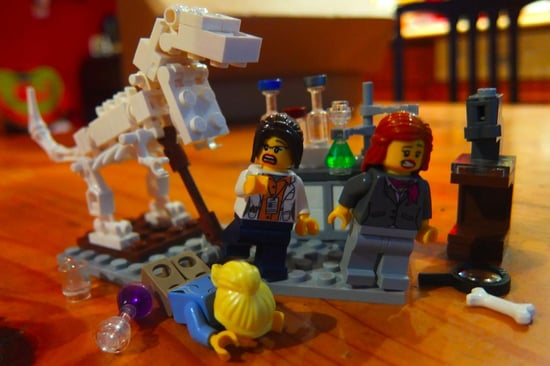 You Need to Follow the Female Lego Scientist Twitter Account