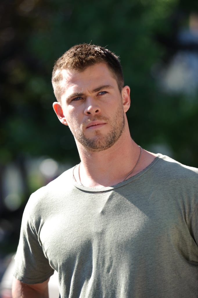 Chris Hemsworth as Jed in Red Dawn. Photo courtesy of Open Road Films
