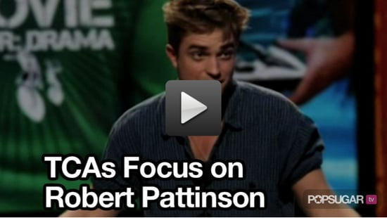 Video of Robert Pattinson at the Teen Choice Awards