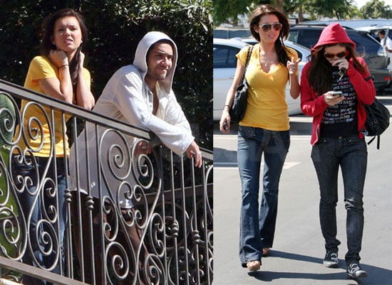 Photos of Audrina Patridge and Justin Bobby in LA