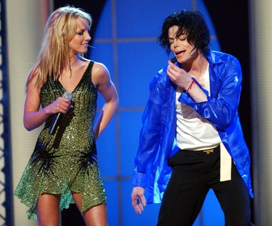Britney Spears and MJ performed a duet at his 30th Anniversary Special in NYC in 2001.