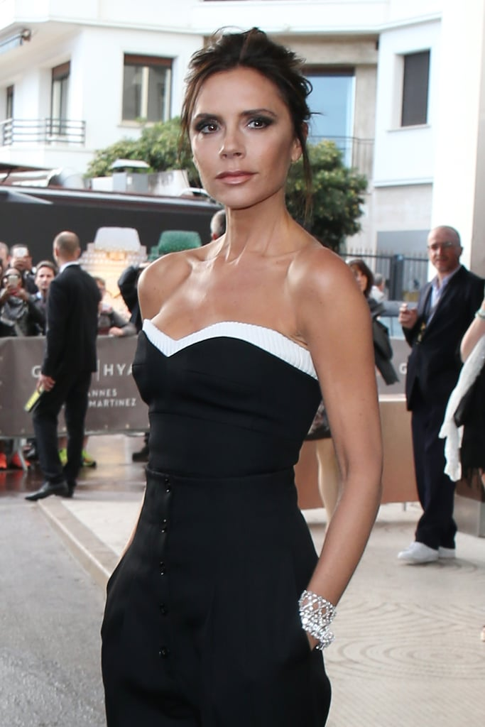 victoria beckham jumpsuit cafe society premiere cannes 2016 popsugar fashion. Black Bedroom Furniture Sets. Home Design Ideas