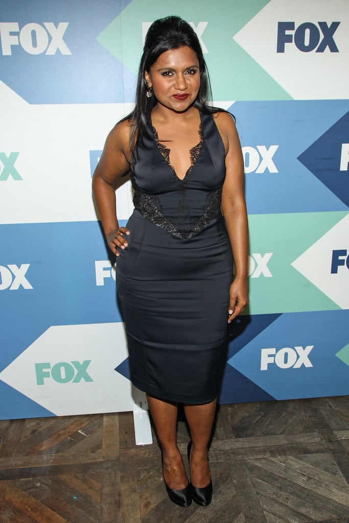Mindy Kaling dressed to impress for the Fox All-Star Party in LA.