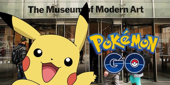 Here's What Happened When We Played Pokémon Go At MoMA