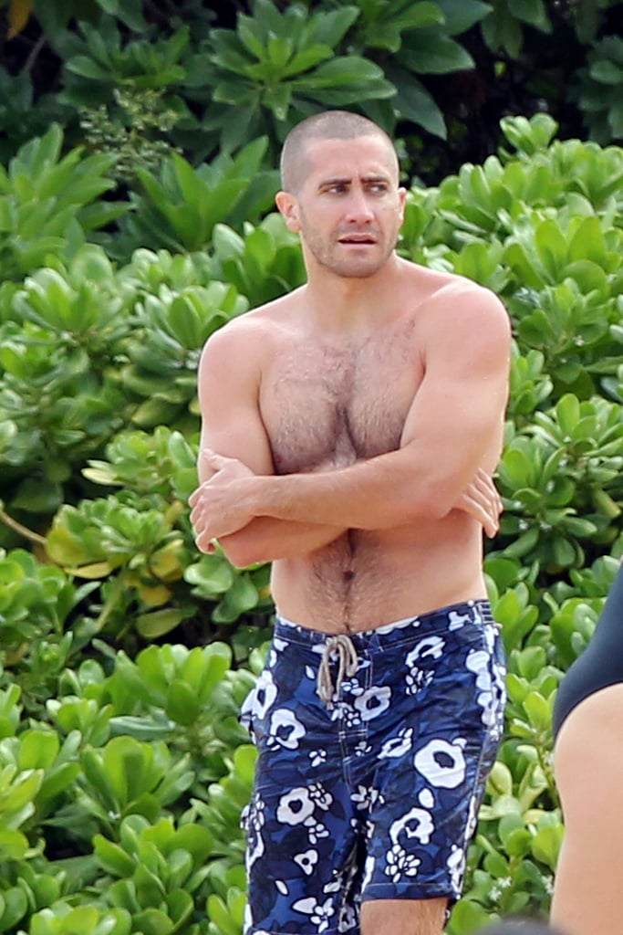 He put his buff body on display during a July 2011 vacation in Hawaii.