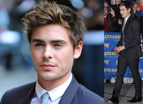 Photos and Video of Zac Efron on David Letterman Promoting Me and Orson Welles