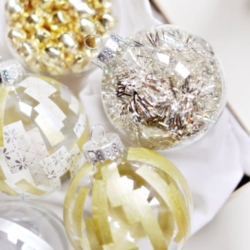 Glass Ball Ornament DIYs
