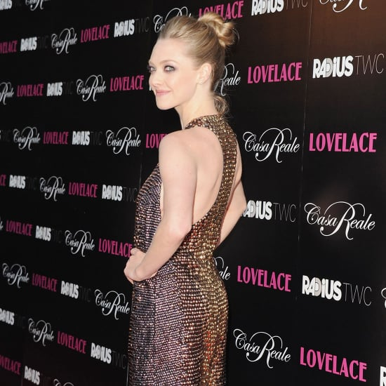 Amanda Seyfried, Sharon Stone Red Carpet Looks for Lovelace