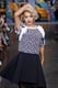 Rita Ora made a surprise appearance on the runway at the DKNY show on Sunday.