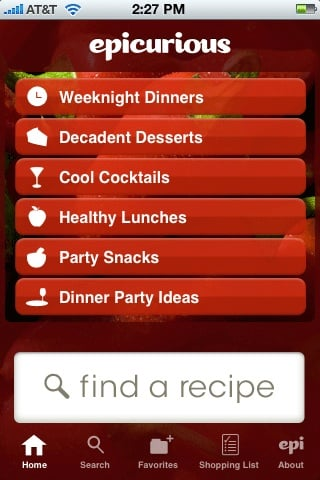 Yummy Links: From Epi's iPhone App to Swine Flu Cocktails