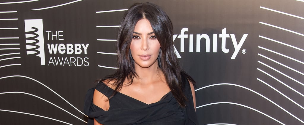 "Kim Kardashian Vows ""Naked Selfies Until I Die"" During Her Webby Awards Speech"