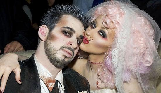 Unorthodox Celebrity Bridal Beauty
