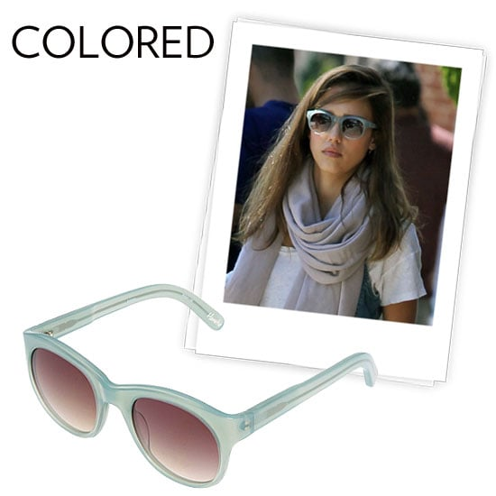 Why we love them: The color trends this season are popping up on our shades, even pastels a la Jessica Alba's Elizabeth and James pair. We love that we can inject a dose of Spring brights to our look just by slipping on our sunglasses. How to wear them: These were meant for having fun. There aren't really any rules — though these are best with our off-duty styles and festival wear. Opt for colors that complement your complexion and even your hair color to take it to the next level.   Elizabeth and James Horatio Sunglasses ($155)