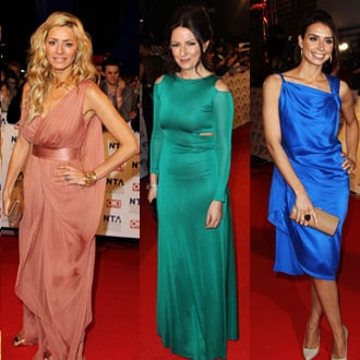 Pictures of Women on National Television Awards 2011 Red Carpet Including Cheryl Cole, Tess Daly, Davina McCall, Emma Bunton