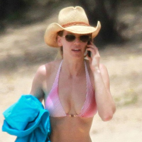 Hilary Swank Bikini Pictures in Hawaii